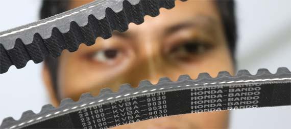 Panjang belt bisa dihitung dari jumlah mata gigi