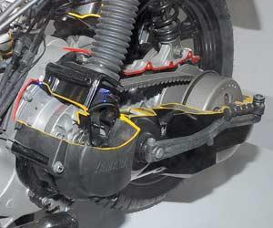 CVT Yamaha Xeon 1