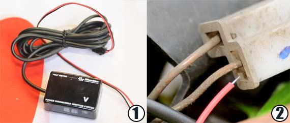pasang voltmeter 1